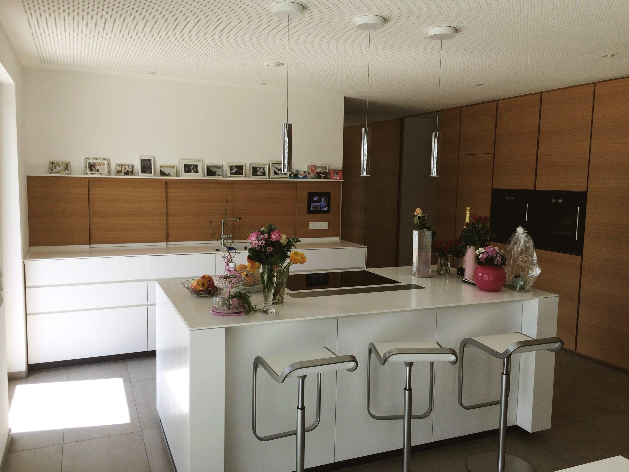 Küchenblock und Küchenzeile
