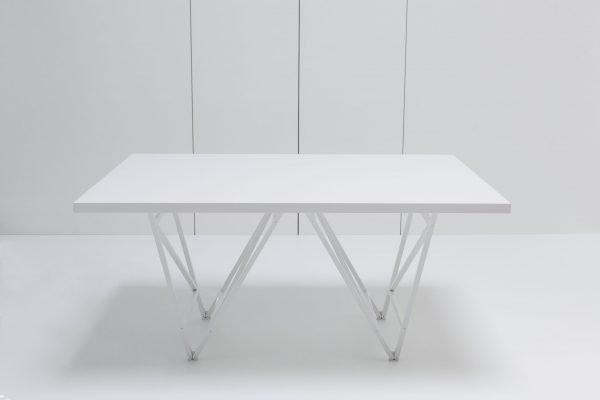 Designertisch STEVY - Weiß