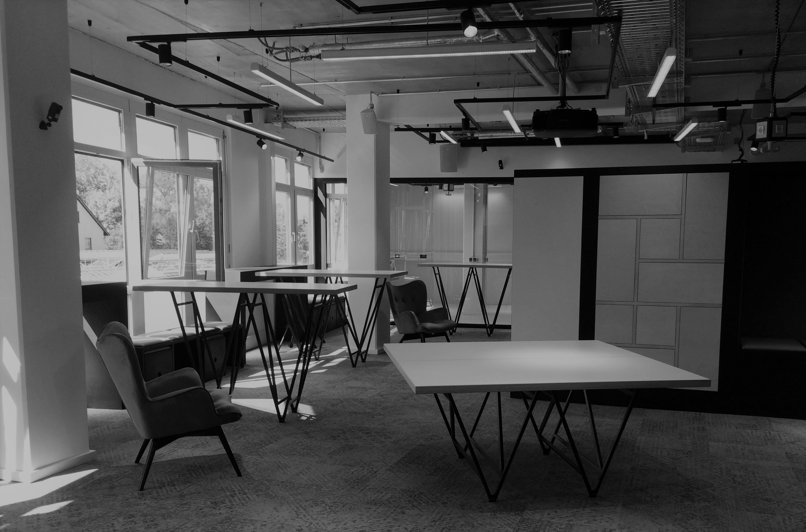 Coworking Space - black/white